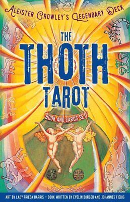 The Thoth Tarot Book and Cards Set Aleister Crowley's Legendary... 9781454921462