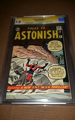 Tales To Astonish #36 Cgc-Ss 7.0 Signature Series  Signed By Stan Lee