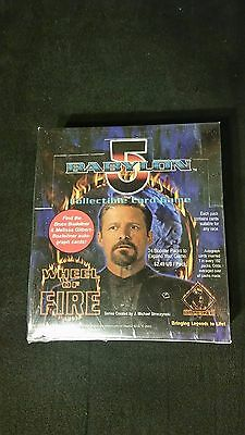 Babylon 5 B5 CCG Wheel of Fire expansion set booster box factory sealed