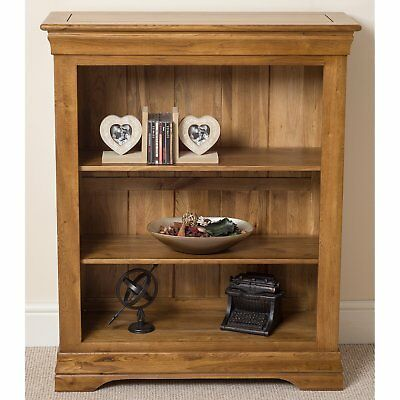 113cm Bookcase Wood Cabinet Chest Drawers Shelves Storage Display Unit