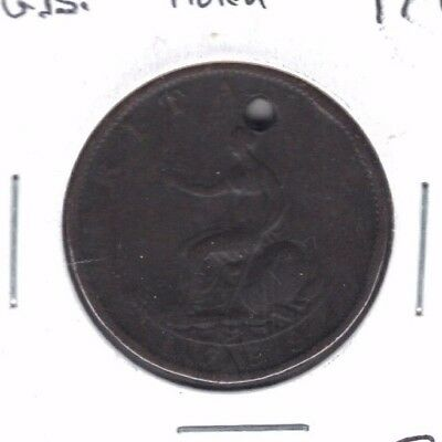 Great Britain 1799 Half Penny Coin