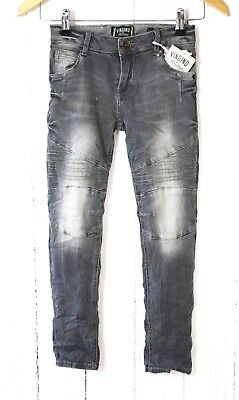 "VINGINO Skinny Jeans "" Amaury""  Light Grey Größe 8/EU 128"