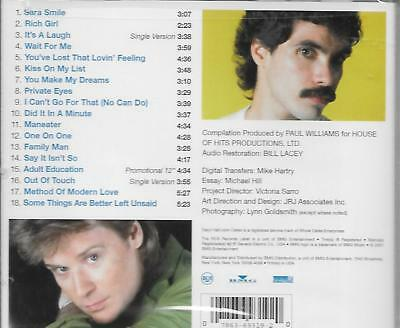 Daryl Hall & John Oates The Very Best Of Cd Digitally Remastered