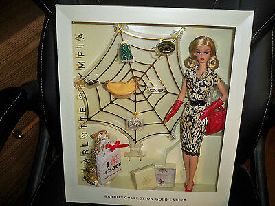 Charlotte Olympia Barbie Doll 2016 Gold Label Designer Carlyle Nuera NRFB