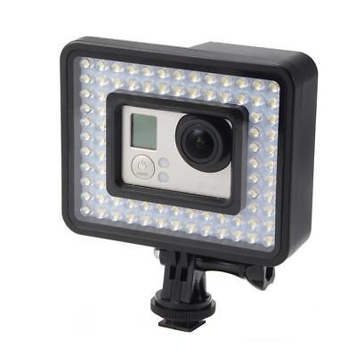 LED 80 Photo Studio Video Light for GoPro Xiaomi Yi Sports Camera Camcorder
