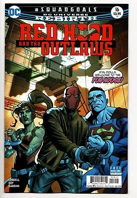Red Hood and the Outlaws #16 - Rebirth Main Cover (DC, 2017) New/Unread (NM)