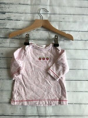 Baby Girls Clothes 0-3 Months -  Pretty Next T Shirt Top