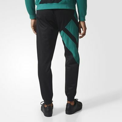 ADIDAS EQT BLOCKED Track Pants LARGE NEW CV8967 Jogger Green Cuffed 1708