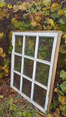 VINTAGE SASH ANTIQUE WOOD WINDOW UNIQUE FRAME PINTEREST WEDDING 34x28 9 PANE