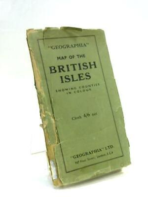Geographia Map of the British Isles Showing Counties in Book (Anon) (ID:73481)