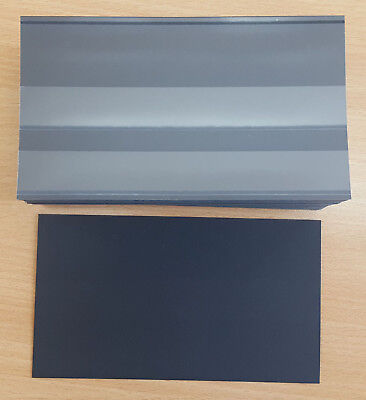 Hawid 2 Strip Black Stock Cards with flap
