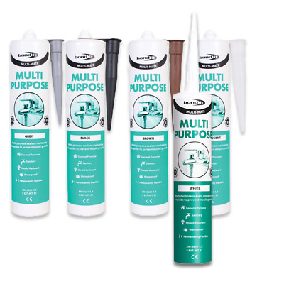 BOND IT Multimate silicone sealant multi purpose kitchen bathroom Upvc Glazing