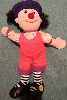 "Vintage Big Comfy Couch Loonette Doll 20"" 1995 Commonwealth"