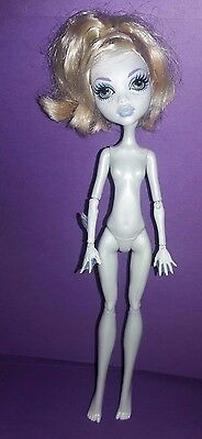Monster High Dead Tired Hydration Station Playset Lagoona Blue Nude Doll