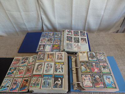 Huge Collection of Sports and Fantasy Cards Mint Condition in Binders