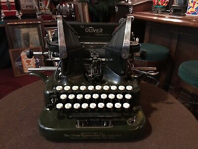 "1927 The Oliver #5 Typewriter with Manual  ""Watch Video"""