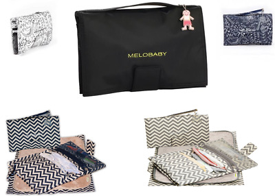 Melobaby ALL-IN-ONE nappy wallet & change mats. Essential Baby Bag Item
