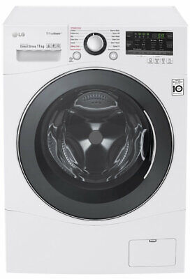 NEW LG WD1411SBW 11kg Front Load Washing Machine with TrueSteam