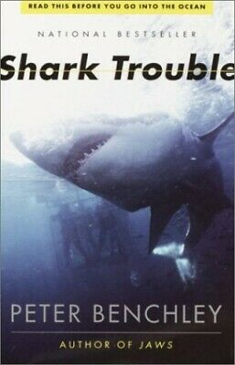 Shark Trouble by Benchley, Peter Book The Cheap Fast Free Post