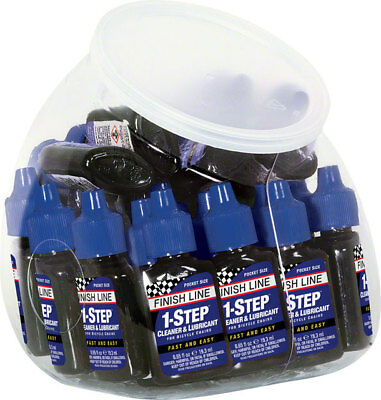 Finish Line 1-Step Cleaner and Lubricant 0.65oz Canister of 30