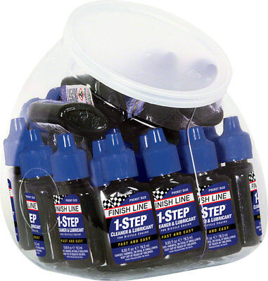 New Finish Line 1-Step Cleaner and Lubricant 0.65oz Canister of 30