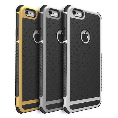 Shockproof Rubber Hybrid Fashion Hard Case Thin Cover For Apple iPhone 6 6S Plus