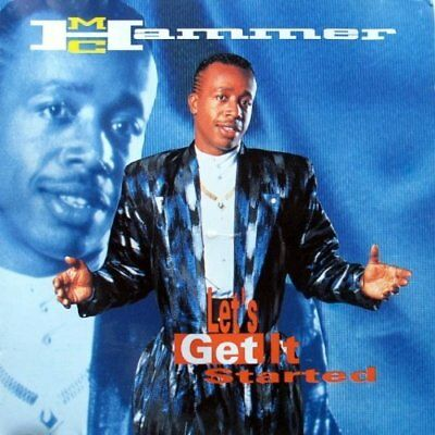 MC Hammer -Let`s get it started -  CD NEW