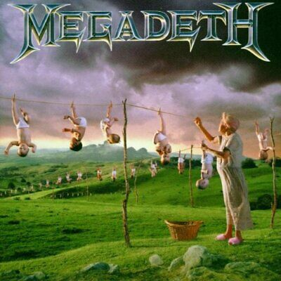 Megadeth - Youthanasia by Megadeth (1994-08-02) - Megadeth CD PSVG The Cheap The