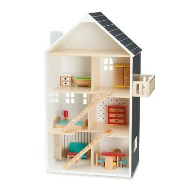Modern Dollhouse Doll House Dolls Christmas Gift For Kids