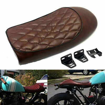 Motorcycle Cafe Racer Hump Vintage Seat Saddle Cushion For Honda CB CL Suzuki GS