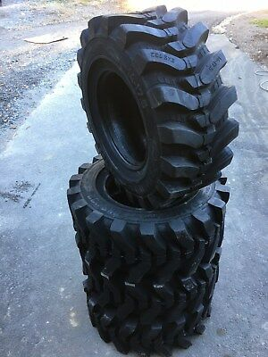 4 NEW HD 14-17.5 Camso SKS732 Skid Steer Tires for Bobcat 14x17.5- 40/32nd tread