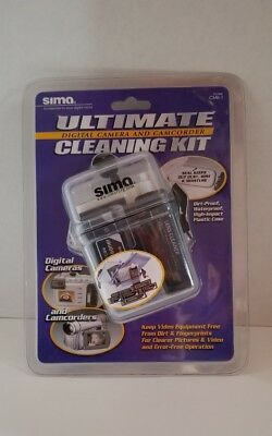 Sima Ultimate Digital Camera Camcorder Cleaning Kit CMK-1 NEW Sealed