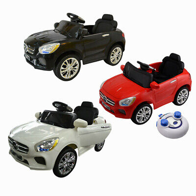Kids Ride On Car 6V Electric Battery Remote Control Radio Children MP3 Toys Gift