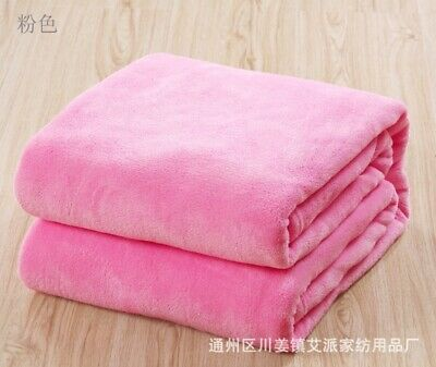Super Soft Fur Mink Throws Fleece Blanket For Baby Sofa Bed Luxury Soft Warm Rug