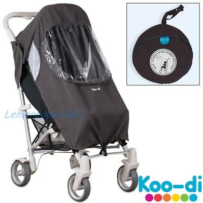 Koo-di Rain Cover Buggy Stroller Pushchair Pack it Keep Me Dry UNIVERSAL Single