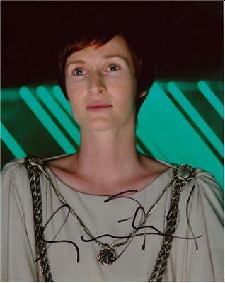 """Genevieve O'Reilly - Colour 10""""x 8"""" Signed 'Star Wars' Photo - UACC RD223"""