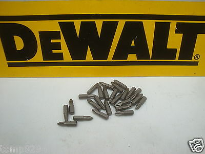 25 X 25Mm Dewalt Ph2 Screwdriver Bits Loose Taken From A Dt9296