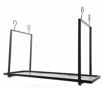 Wall Iron 90X33X60 Cm Black Hanging