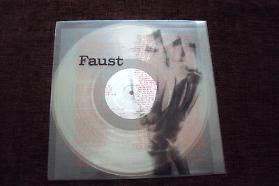 Faust.1st LP.1971 UK Original.Clear Vinyl.VG+/VG+.