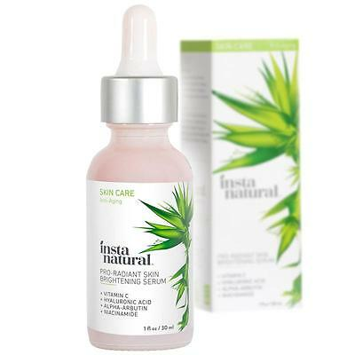 InstaNatural Pro-Radiant Skin Brightening Serum /discolouration uneven skin 30ml