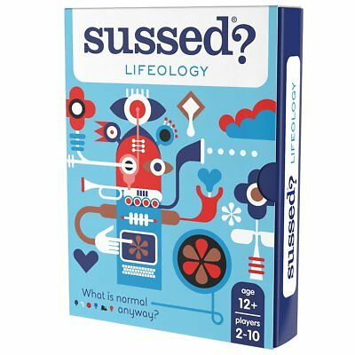 Sussed Lifeology Conversations You Have Never Had Family Friendly Card Game
