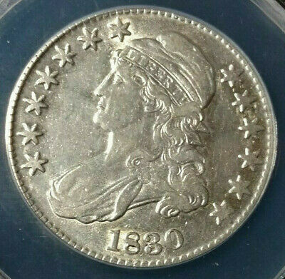 1830 Capped Bust Half Dollar ANACS XF40 - Details