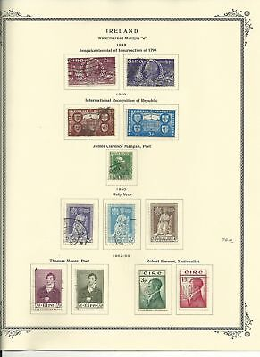 Ireland Collection 1922-2009 in Clean Scott Specialty Album With Binder