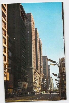 Chicago, Illinois, IL, Palmer House Hotel State Street, Vintage  Postcard