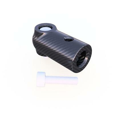 6mm Bolt Anchor Mount with M3 Screw Used to Join 6mm 3K Carbon Fiber Tube (4.0 G