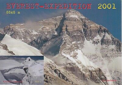 AUTOGRAMM THEO FRITSCHE Himalaya Mount Everest Expedition signed signiert