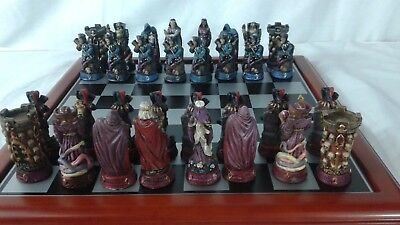 Vintage Collectible Chess Pieces by Creations - Dark Fantasies - NEW