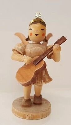 Wood Christmas Angel Shabby Chic Music Guitar Country Singer Holiday Decoration