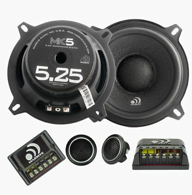"Massive Audio MK5 (260W RMS) 5.25"" MK Series 2-Way Component Car Speakers"