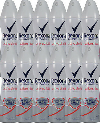 12 x 150 ml Rexona Deo MotionSense Active Shield 48h Anti-Transpirant